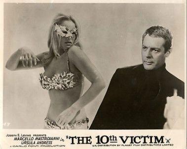 The-10Th-Victim-Lobby-Card-Urusla-Andress-Bikini