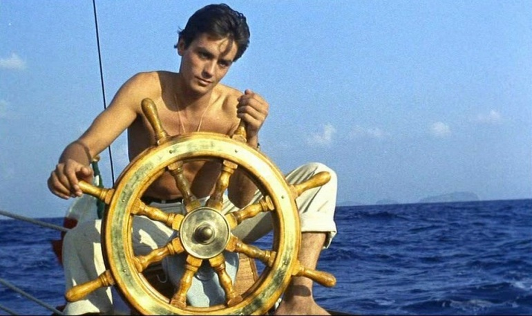 vintage-alain-delon-your-destiny-is-in-your-hands-purple-noon-1960